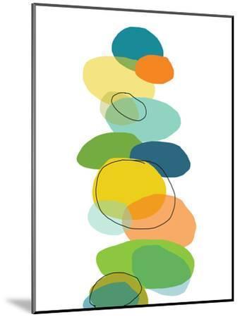Pattern 1-Jan Weiss-Mounted Art Print