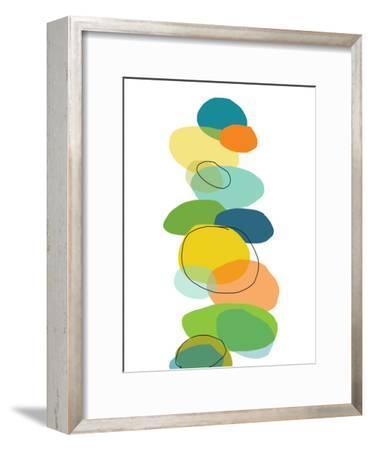 Pattern 1-Jan Weiss-Framed Art Print