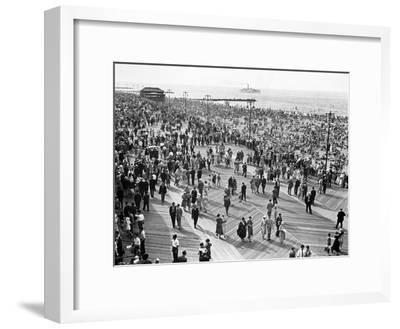 Coney Island Brooklyn 1231-HA Dunne-Framed Art Print
