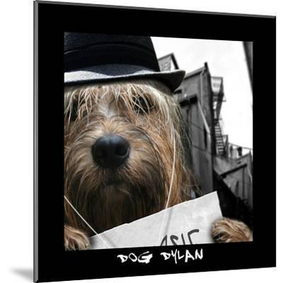 Dog Dylan-Noah Bay-Mounted Art Print