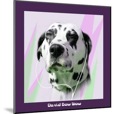 David Bow Wow-Noah Bay-Mounted Art Print