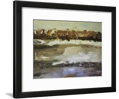 Winter Landscape-Laura D Zajac-Framed Art Print
