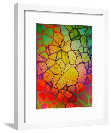 Colorful Mosaic Design-Wonderful Dream-Framed Art Print