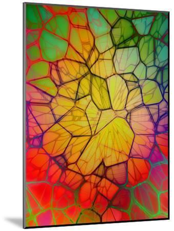 Colorful Mosaic Design-Wonderful Dream-Mounted Art Print