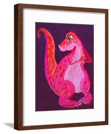 Dinodan-Cara Kozik-Framed Art Print