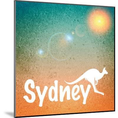 Sydney Australia-Wonderful Dream-Mounted Art Print