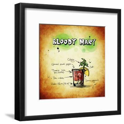 Bloody Mary Cocktail-Wonderful Dream-Framed Art Print