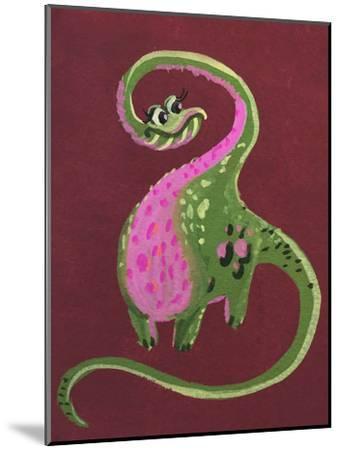 Female Dino-Cara Kozik-Mounted Art Print