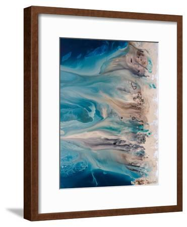 The Shore Beckons 2-Lis Dawning Scott-Framed Art Print