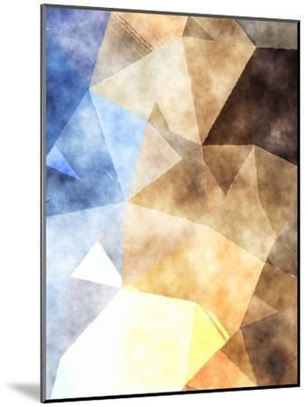Triangles Abstract Pattern 4-Grab My Art-Mounted Art Print