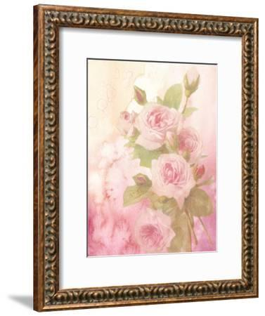 Vintage Valentine Rose-Wonderful Dream-Framed Art Print