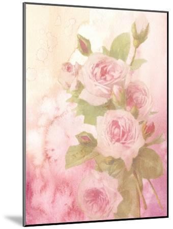 Vintage Valentine Rose-Wonderful Dream-Mounted Art Print