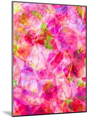 Triangles Abstract Pattern 26-Grab My Art-Mounted Art Print