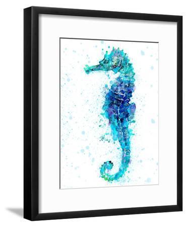 Seahorse 1-Lebens Art-Framed Art Print