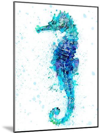Seahorse 1-Lebens Art-Mounted Art Print
