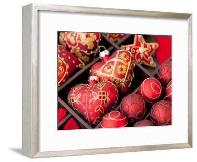 Red Christmas-Grab My Art-Framed Art Print