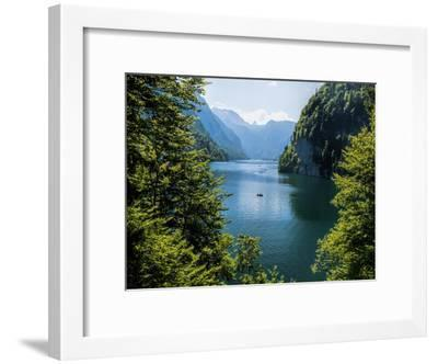 Koenigssee Lake Alpes Mountains Bavaria 6-Grab My Art-Framed Art Print
