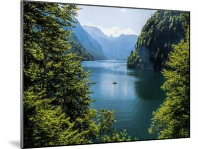 Koenigssee Lake Alpes Mountains Bavaria 6-Grab My Art-Mounted Art Print