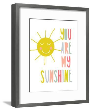 Sunshine-Nanamia Design-Framed Art Print