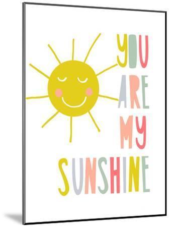 Sunshine-Nanamia Design-Mounted Art Print