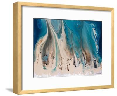 The Shore Beckons 1-Lis Dawning Scott-Framed Art Print