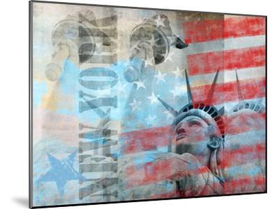Statue Of Liberty 2-Lebens Art-Mounted Art Print