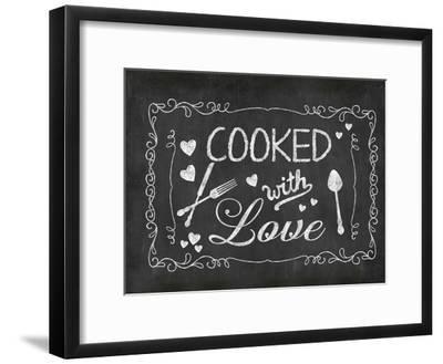 Cooked With Love 2-Lebens Art-Framed Art Print