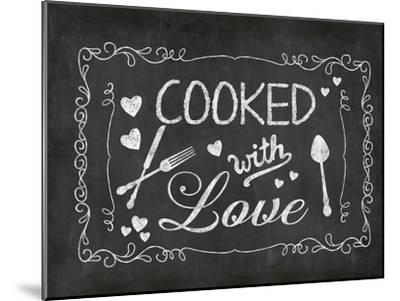 Cooked With Love 2-Lebens Art-Mounted Art Print