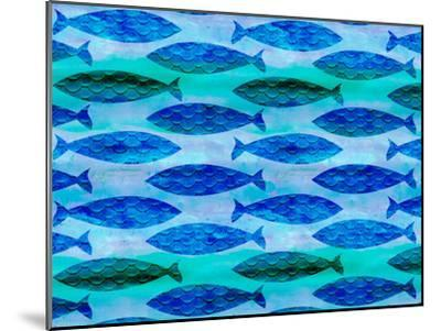 Fish Pattern-Lebens Art-Mounted Art Print