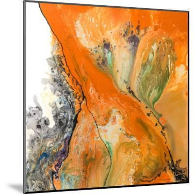 Orange Dream-Lis Dawning Scott-Mounted Art Print