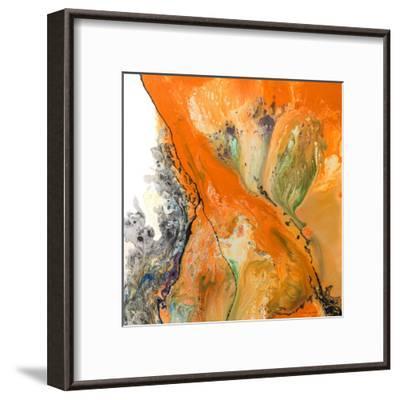 Orange Dream-Lis Dawning Scott-Framed Art Print