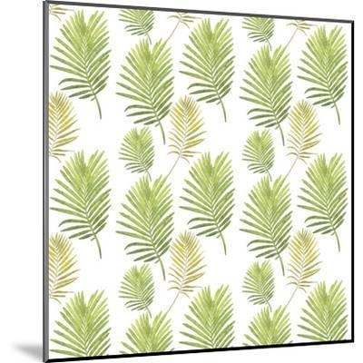 Leafes Plant Illustration-Grab My Art-Mounted Art Print
