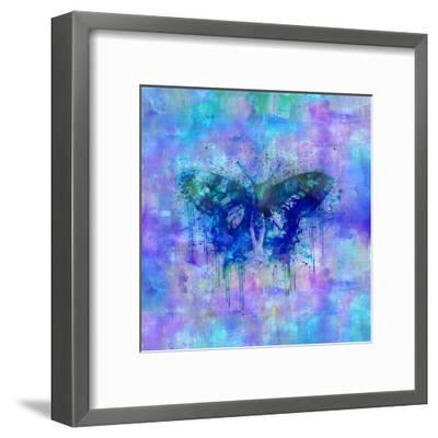 Butterfly - Square 2-Lebens Art-Framed Giclee Print