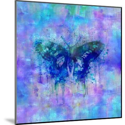 Butterfly - Square 2-Lebens Art-Mounted Giclee Print