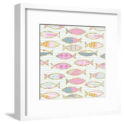Fancy Fish - Square-Lebens Art-Framed Art Print