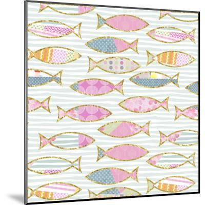 Fancy Fish - Square-Lebens Art-Mounted Art Print