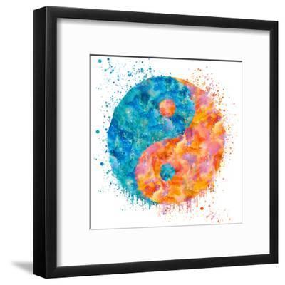 Yin Yang - Square-Lebens Art-Framed Giclee Print