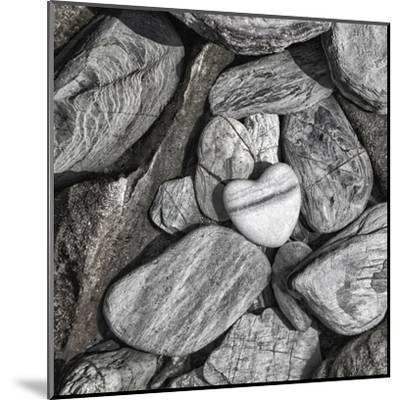 Stone Heart 2 - Square-Lebens Art-Mounted Giclee Print