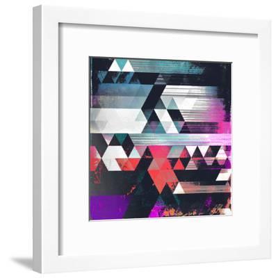 Dythyr Dysystyr-Spires-Framed Art Print