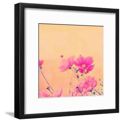 Summer Flower 2 - Square-Lebens Art-Framed Giclee Print