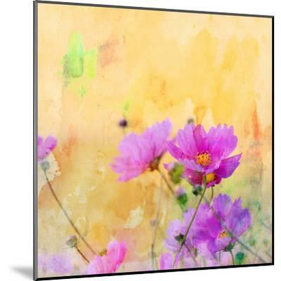 Summer Flower 3 - Square-Lebens Art-Mounted Art Print