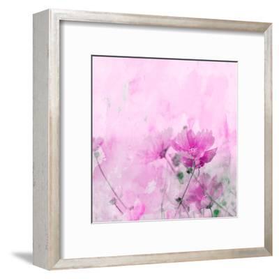 Summer Flower 4 - Square-Lebens Art-Framed Giclee Print