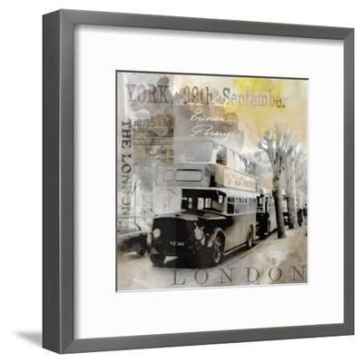Vintage Britain - Square-Lebens Art-Framed Art Print