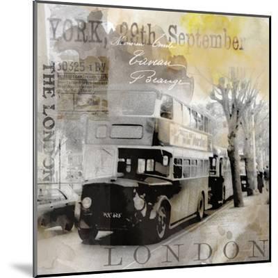 Vintage Britain - Square-Lebens Art-Mounted Art Print