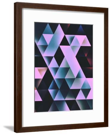 Nyte Bryt-Spires-Framed Art Print