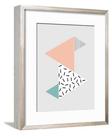 Stripes-Nanamia Design-Framed Art Print