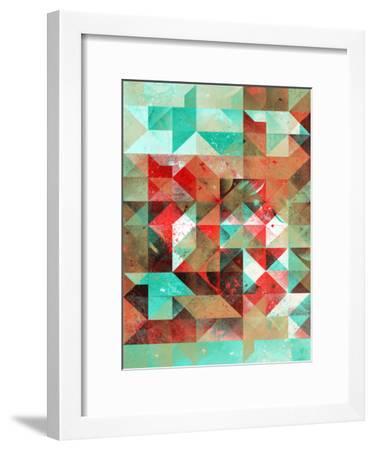 Ryht Lyht Ryso Rymyx-Spires-Framed Art Print