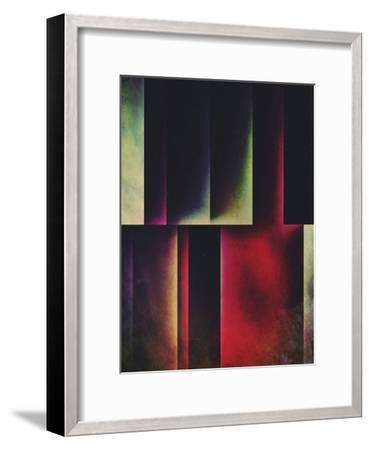 Vyrt Twwd-Spires-Framed Art Print