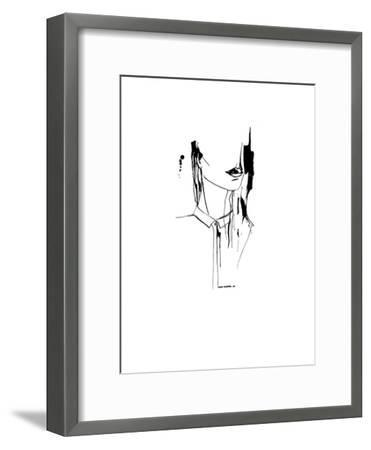 Inked_1--Framed Art Print