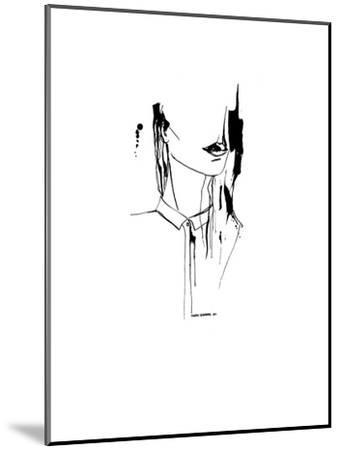 Inked_1--Mounted Art Print